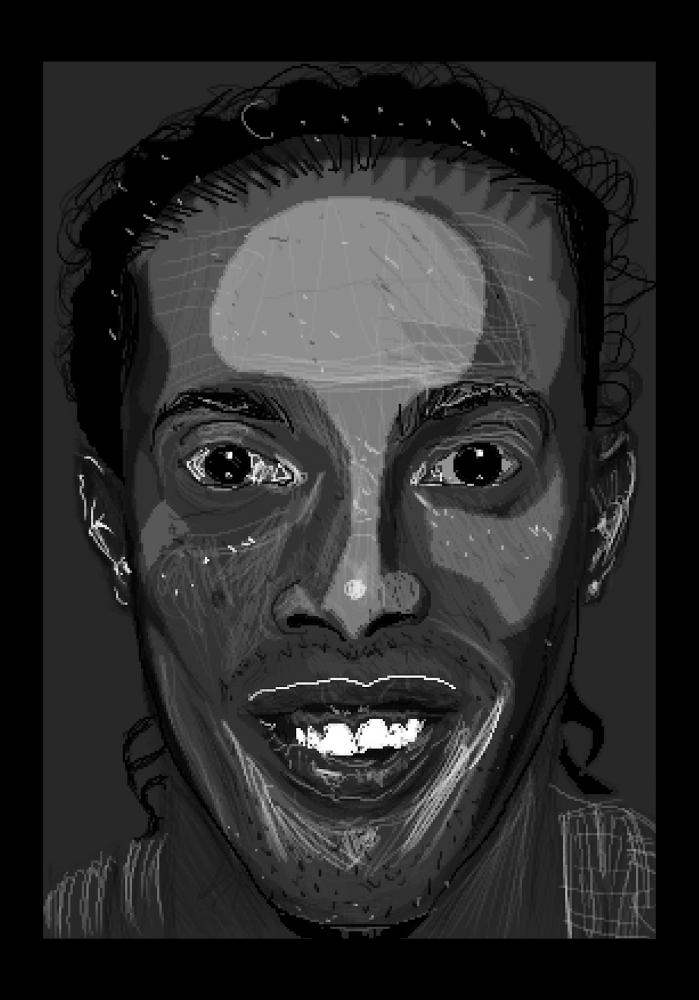 Ronaldinho by Zilmari
